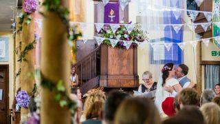 Wedding at Bridport Chapel