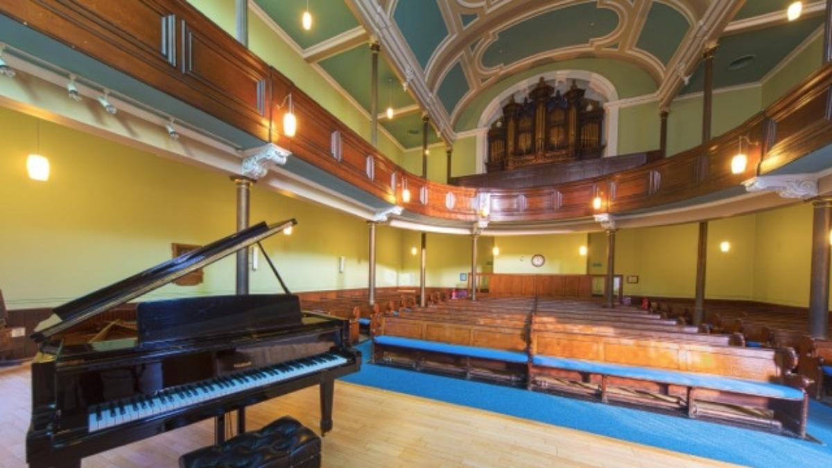Interior of St Marks Unitarian Church, Edinburgh