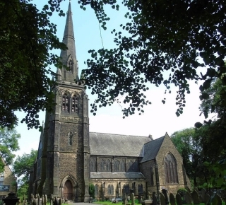Photograph of Monton Church