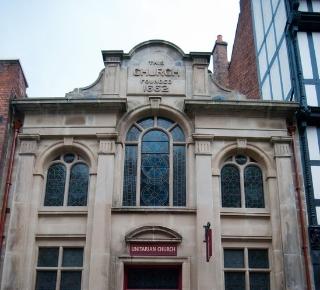 Photograph of Shrewsbury Unitarian Church