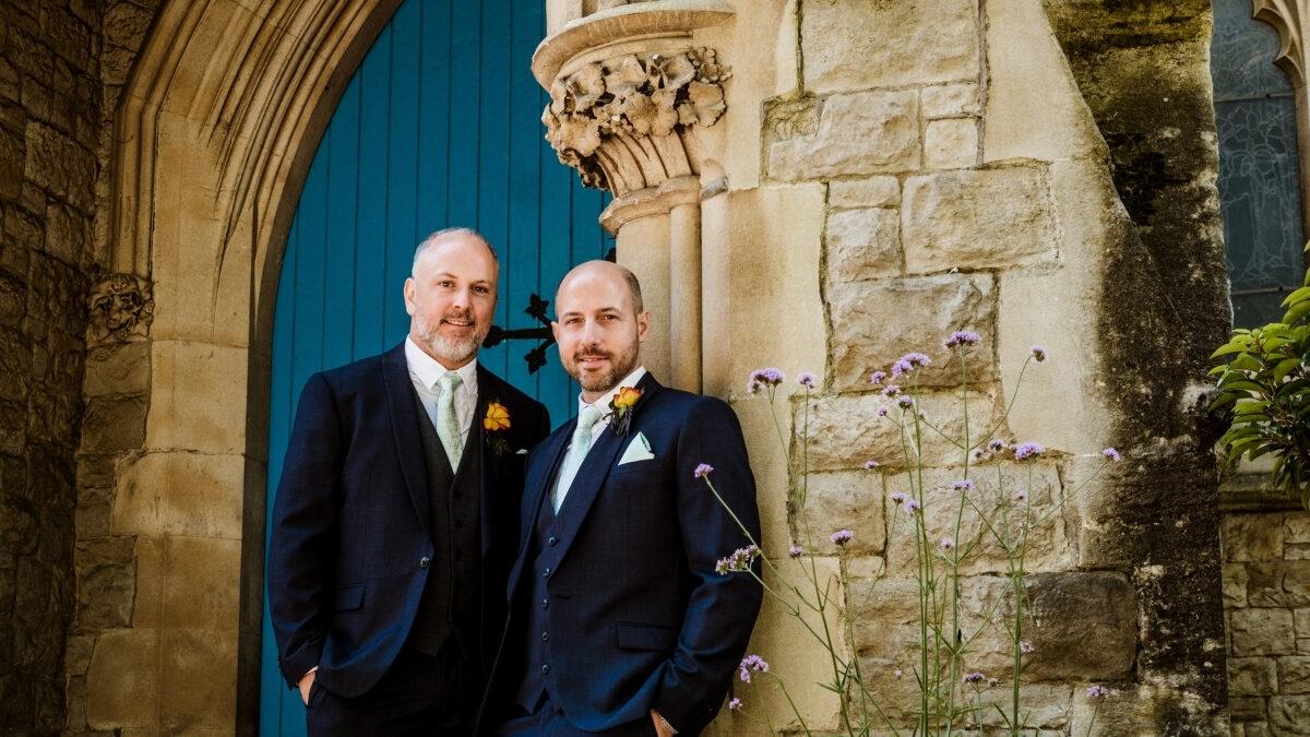 Wedding at Rosslyn Hill Chapel, Hampstead