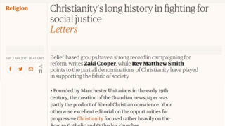Rev Matthew Smith - The Guardian