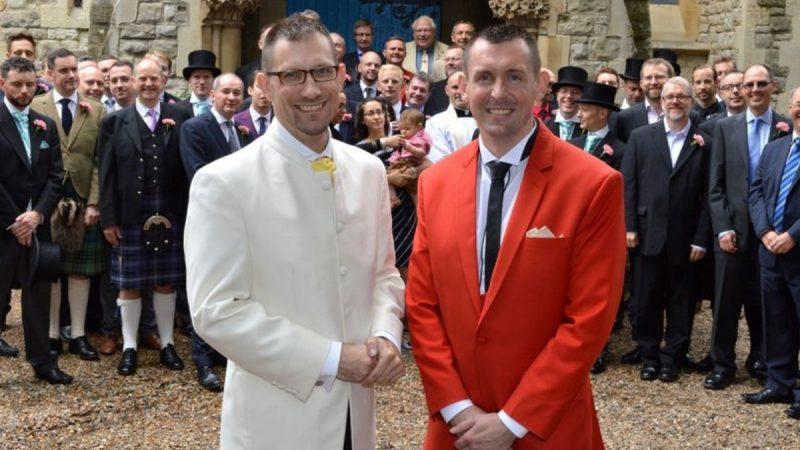 Ed Fordham Wedding