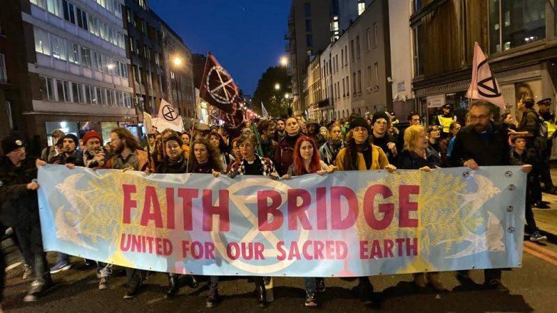 Climate Change - Extinction Rebellion Faith Bridge