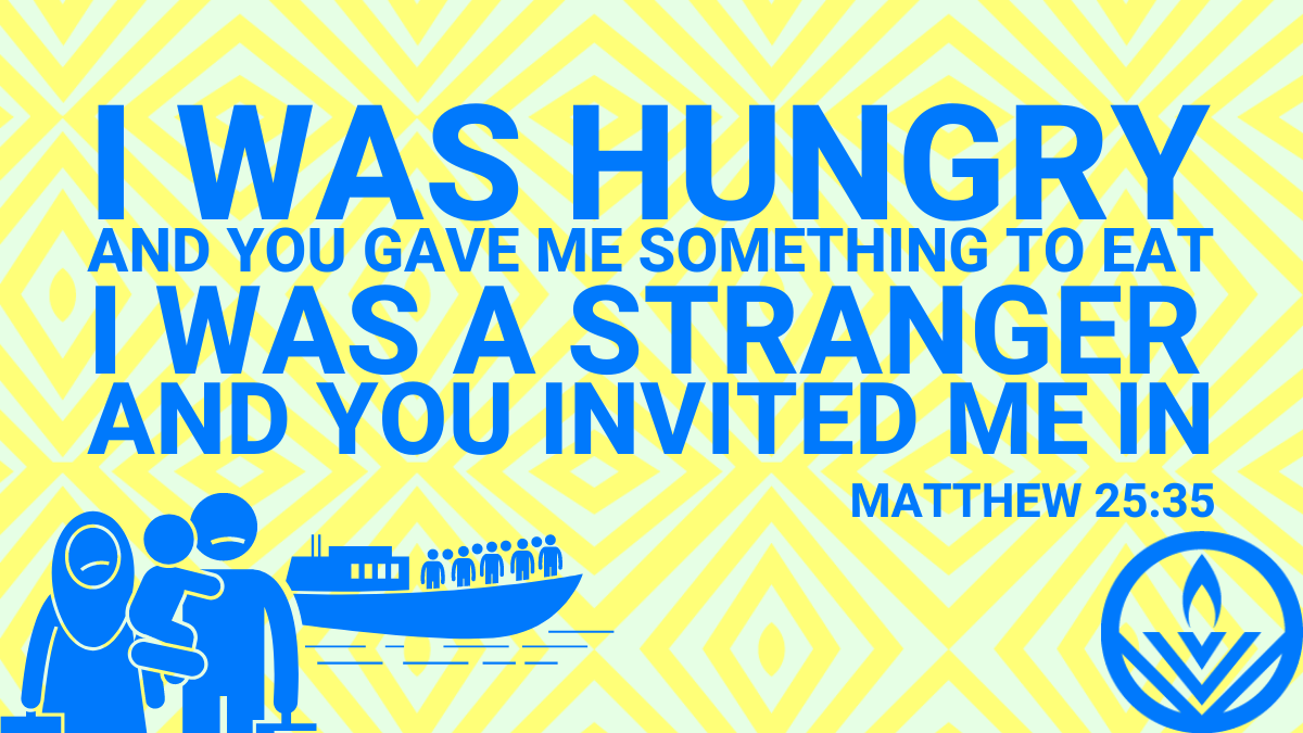 I Was Hungry - Bible Quote