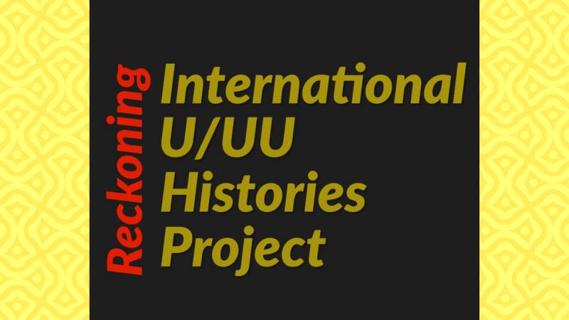 Reckoning U UU Histories Project