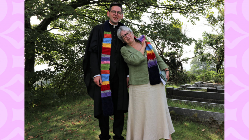 Wales Ordinations - Melda and Rory